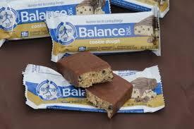Cookie Dough Balance Bars