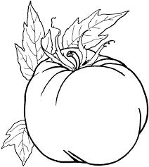 Dessin Animé Noir Et Blanc Chic De Tomate Cliparts Vectoriels Et