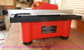 husky tile saw model thd750l husky thd750l tile saw item x9638 sold wednes