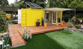 100 Cargo Container Home From The Home Front Tiny Cargo Container House Is Sunset Idea House