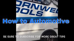 How To Open Your First Tool Truck Account (Cornwell Tools) - YouTube