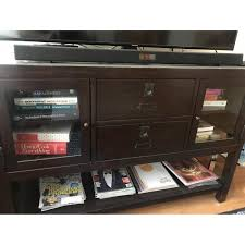 Pottery Barn Rhys Media Console Table - AptDeco Long Media Console Car Desk Organizer Coffee Table Foyer Tables Pottery Barn Settee About Fancy Apothecary For Fresh 12 Chloe Ideas 2017 Armoire Ebay Griffin Reclaimed Wood Decor Look Pottery Barn Console Table Roselawnlutheran 15 Best Of Rhys From Do Want