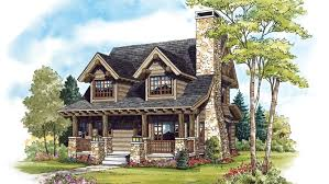 2 Bedroom Cabin Home Plan HOMEPW76649