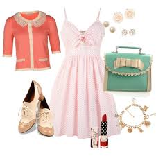 40s Inspired Outfit For The Girly Girl Polyvore Outfits