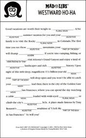 Halloween Mad Libs For 3rd Grade by Image Result For Most Popular Mad Libs For Teens Kids Stuff