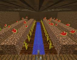 Minecraft Melon Seeds by How To Build An Underground Farm In Minecraft Levelskip