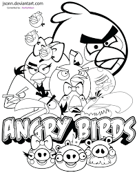 Angry Birds Coloring Book Pdf Pages Free Transformers Full Size