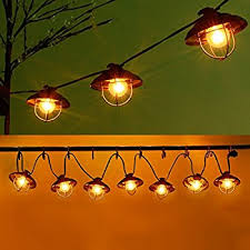 Patio String Lights Ucharge Globe String Lights Outdoor 7 Bulb