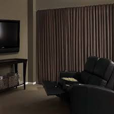 Noise Reducing Curtains Uk by Absolute Zero Total Blackout Home Theater Drapery Curtain Panel