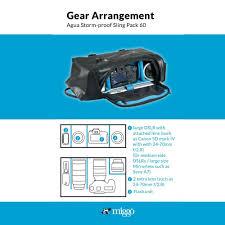 100 Hk Mark 24 Miggo Agua Stormproof Sling Pack For Large DSLR DISTEXPRESSHK
