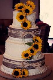 Modern Ideas Sunflower Wedding Cakes Classy Idea Best 25 On Pinterest Country
