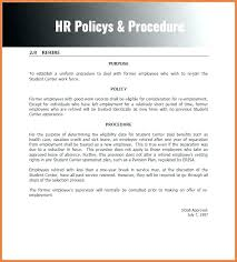 Insurance Policies And Procedures Handbook Template Human Resources Policy Procedure Manual Examples Accounting