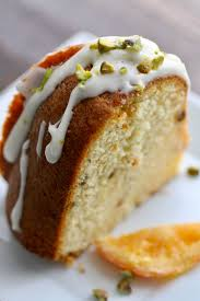 Orange Marmalade Pistachio Bundt Cake