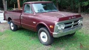 67-72 Chevy Gmc C10 C20 69 GMC 2500 3/4 4x4 4spd 350 Pickup No