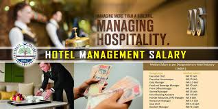 Front Desk Manager Salary by Hotel Management Salary Bng Hotel Management Kolkata
