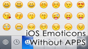 Installing iPhone Emoticons emoji without Apps