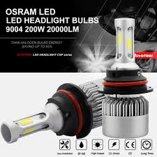 hb1 9004 headlight bulb 20000lm osram 200w led headlight kit 6000k