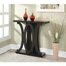 Living Room Tables Walmart by Convenience Concepts Newport Hailey Console Table Espresso