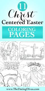 Free Printable Christian Easter Coloring Sheets Story Kids Church Pages For Adults Pictures
