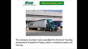 Ward Trucking Jobs - YouTube Ward Trucking Ward Emergetms Help Center Llc Famous Truck 2018 Us Class 8 Sales Plummeted In June Vs Prior Year Wards Auto Intertional Trucks Home Facebook Shows Keystone Chapter Of The Antique Club America Bulk Logistics Group Delivering Britains Dry Bulk Products Daily 2012 Isuzu Npr Dump Truck For Sale 576794 10 Rookie Military Veteran Truck Driver Finalists Named Before Gats Altoona Pa Rays Photos Truckingtuesday Hash Tags Deskgram Homes Logo Proga Info Maxwell Afb Ala Defense Agency Workers Direct Relief