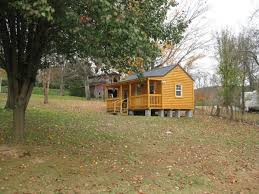 Tommy s Tiny Blues Cabin Living Mortgage free in an Amish Log Cabin