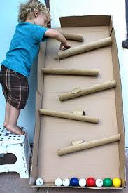 Making A Large Toy Box by 25 Amazing Toys Made With Cardboard Paper Towel Rolls Paper