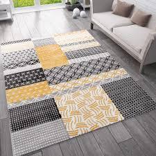 moderner teppich mit patchworkmuster für das wohnzimmer schlafzimmer