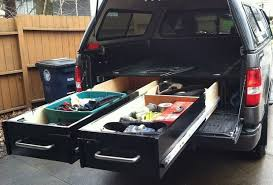TRUCK BED DRAWERS 4 Steps with