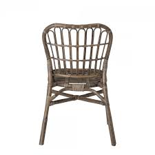 dining chair honeia made of rattan in brown 48 x 59 x 87 cm