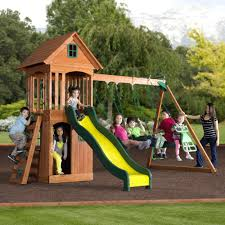 Backyard Discovery Montpelier Cedar Swing Set Instructions Wooden ... Backyards Gorgeous Backyard Wooden Swing Sets Ideas Discovery Montpelier All Cedar Playset30211com The Set Accsories Monticello Walmart Itructions Big Appleton Wood Toys Photo With Amazing Unbeatable For Solid Fun Image Happy Kidsplay Clearance Playsets