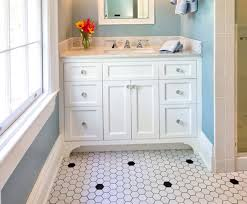 31 retro black white bathroom floor tile ideas and pictures 2020