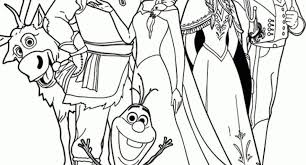 Elsa Frozen Coloring Pages Regarding Really Encourage To Color Page