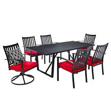 7 Piece Patio Dining Set Canada by Allen Roth Outdoor Dining Sets Lowe U0027s Canada