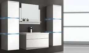wangerooge badmöbel komplettes set mit waschbecken und push to open system in der größe nach wahl