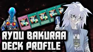 yugioh bakura character deck yu gi oh ryou bakura yami bakura character deck profile