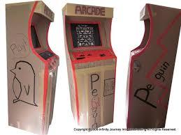 DIY Working Cardboard Arcade Game