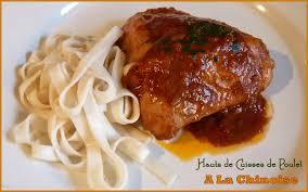 cuisiner haut de cuisse de poulet hauts de cuisse de poulet à la chinoise les délices de capu