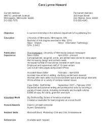 Sample Resumes For Internships College Students Internship Resume Samples Writing Guide Genius Student Examples High
