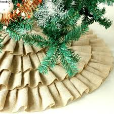 Amazon Com Imperial Home Christmas Tree Skirt 36 Green With Classy Skirts