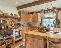 Mid Sized Rustic Eat In Kitchen Ideas