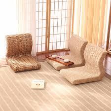 handgemachte japanische boden beinlosen stuhl wohnzimmer möbel asiatischen traditionellen tatami zaisu rückenlehne stuhl für balkon bay