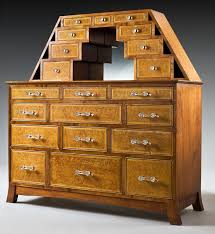 hand crafted custom birdseye maple dresser by palmetto custom