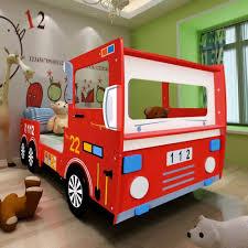 100 Kids Fire Truck Bed Childrens Engine Design Boys Storage Toddlers