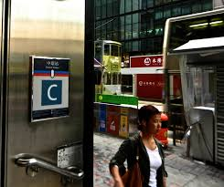 100 Exit C Finding Location Entral Station Of The Hong Kong