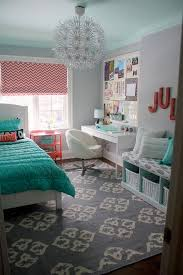 Bedroom Remarkable Teenage Girl Room Decor Ideas Diy Wall Blue Bed With Chandeliers