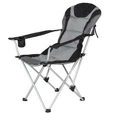 100 Folding Chair With Carrying Case BestChoiceProducts Deluxe Padded Reclining Camping Fishing Beach