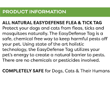 EasyDefense Flea & Tick Tag For Dogs & Cats | Only Natural Pet