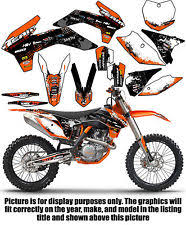 kit deco 125 sx 2004 ktm 200 graphics parts accessories ebay