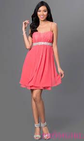 cheap short spaghetti strap party dress promgirl