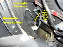 here s how to change front right turn signal bulb with photos in